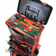 Open tool box with tools — Stock Photo