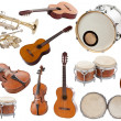 Foto de Stock  : Musical instruments