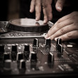DJ play music — Stock Photo #6871055