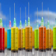 Many syringe — Stock Photo #6871091