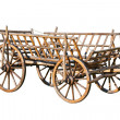 Old decorative cart — Stok Fotoğraf #6871110