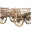 Stock Photo: Old decorative cart