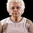 Пожилая женщина — Стоковое фото