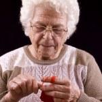 Grandmother — Стоковое фото