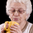 Stock Photo: elderly woman