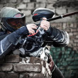 Paintball spelare — Stockfoto #6871511