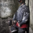 Paintball player — 图库照片