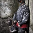 Paintball player — Stok fotoğraf