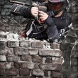 Paintball player — Stockfoto