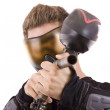 Paintball player — Stock Photo #6871521