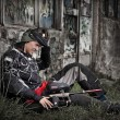 paintball player — Stock Photo #6871530