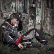 giocatore di paintball — Foto Stock