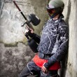 Paintball player — Stock Photo #6871536
