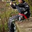 paintball player — Stock Photo #6871538
