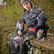 Paintball player — Stock Photo #6871543