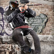 Paintball player — Stock fotografie #6871548