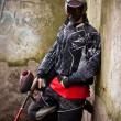 joueur de paintball — Photo #6871550
