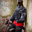 Paintball player — Foto Stock