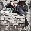 paintball player — Stock Photo #6871553