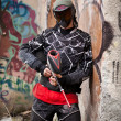paintball speler — Stockfoto #6871558