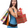 Royalty-Free Stock Photo: Shopping woman.