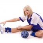 Handball player — Stock Photo