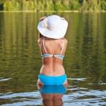 Girl relaxing in bikini — Stock Photo #6872639