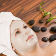 Woman during spa — Stock Photo #6872904