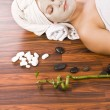 Woman during spa — Stock Photo #6872915