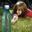 Stockfoto: Girl and water