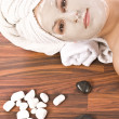 Woman during spa — Stock Photo #6873005