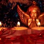 свечи — Стоковое фото