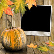 Autumn frame — Stock Photo #6873214