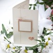 Wedding card — Stockfoto