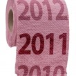Stock Photo: Pink Toilet Paper concept