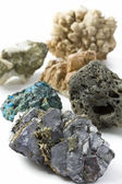 Minerales background — Stock Photo