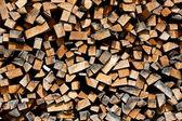 куча дерева — Стоковое фото