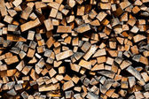 Stos drewna — Zdjęcie stockowe