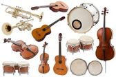 Musical instruments — Stockfoto
