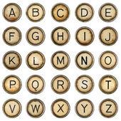 字母表 — 图库照片