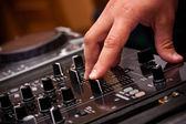 Dj spielen musik — Stockfoto