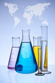 Laboratory glassware — Stock Photo