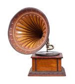 Gramófono antiguo — Foto de Stock