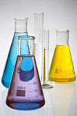 Laboratory glassware — Stockfoto