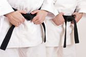 Black belt — Stockfoto