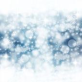 青い冬の背景 — ストック写真