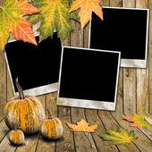Autumn frame — Stock Photo