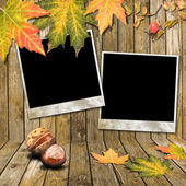 Cadre automne — Photo