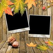 Marco de otoño — Foto de Stock