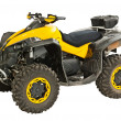 Yellow quadbike — Stock Photo